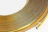 phil trade Gold Chrom Zierleiste 6mm x 15m selbstklebend universal Auto Goldleiste...