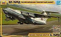 ズベズダ 1/144 ロシア空軍輸送機 イリューシン IL-76MD キャンディッド