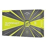 Callaway 2018 Superhot Bold Golf Balls Yellow 15