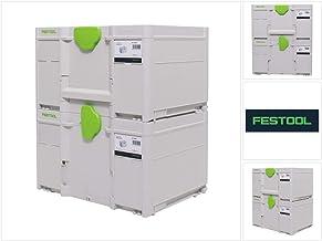 Festool Systainer Set 2x SYS3 M 237 (2 x 204843) 21,4 liter 396x296x237 mm gereedschapskoffer koppelbaar