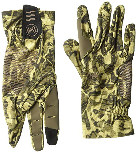 Buff Fullflex Handschuh, Unisex, Fullflex Gloves, Reflection Braun, Small
