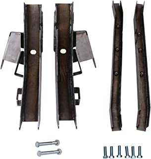 tiewards Rear Trail Arm Skid Center Frame Rust Repair Kit Fit for 97-02 Jeep Wrangler TJ