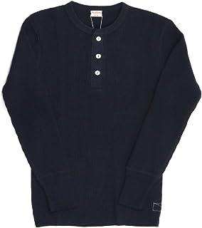 (ヘルスニット) Healthknit スーパーヘビー ワッフル ロングスリーブ ヘンリーネック カットソー Tシャツ ロンT メンズ レディース HK990