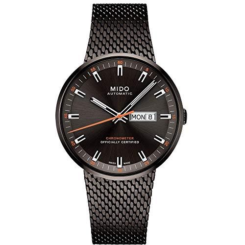 Mido Automatik Herrenuhr Chronometer Commander Icône M031.631.33.061.00