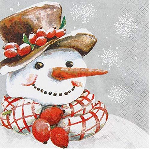 Serviette Weihnachten /