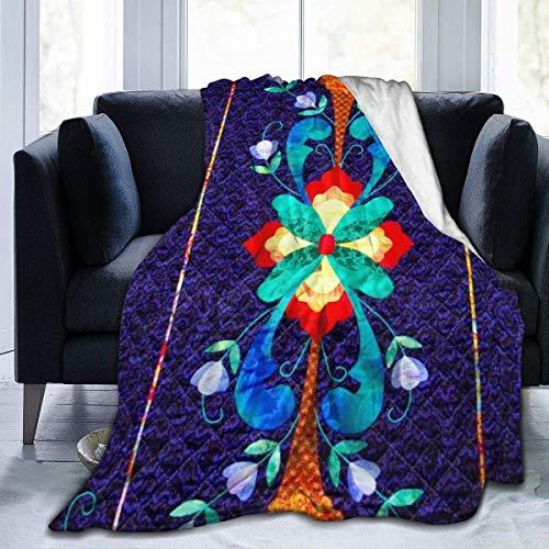 Manta de viaje para silla de viaje con patrón tradicional de Norwegian y ultra suave, para mujeres, hombres, regalo