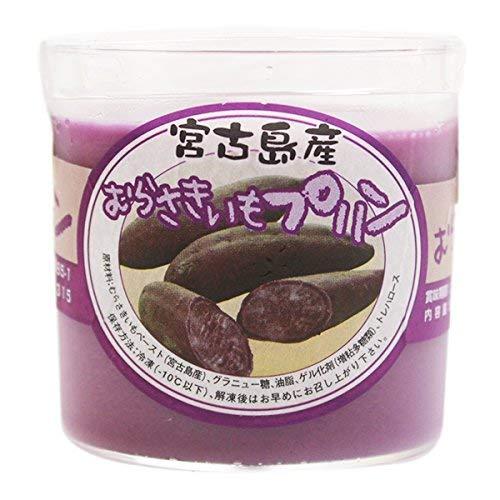 むらさきいもプリン 82g×6個 けーきはうす 紫芋の濃厚な味と香り 素材を味わう贅沢スイーツ お土産にも