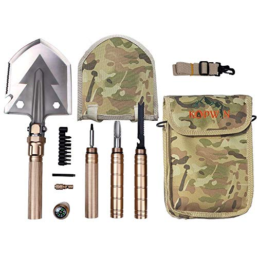 Folding Shovel and Camping Multitool