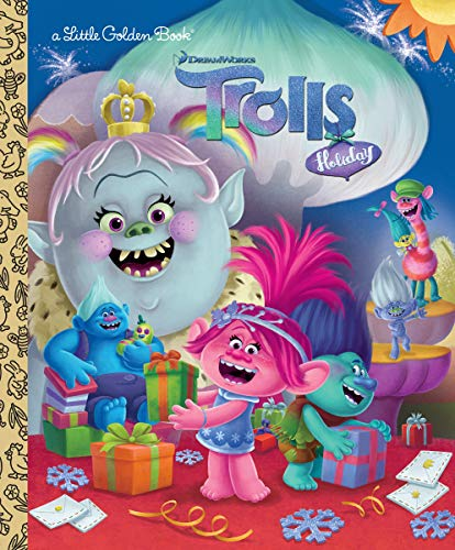 DreamWorks Trolls Holiday LGB (DreamWorks Trolls) (Little Golden Book)