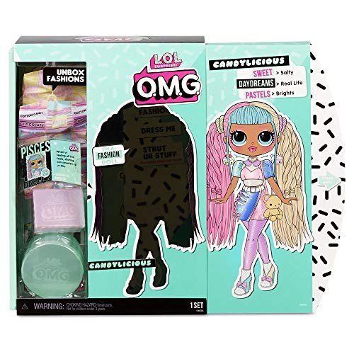 Giochi Preziosi- LOL OMG Doll Core Candylicious Bambole, LLUA9100