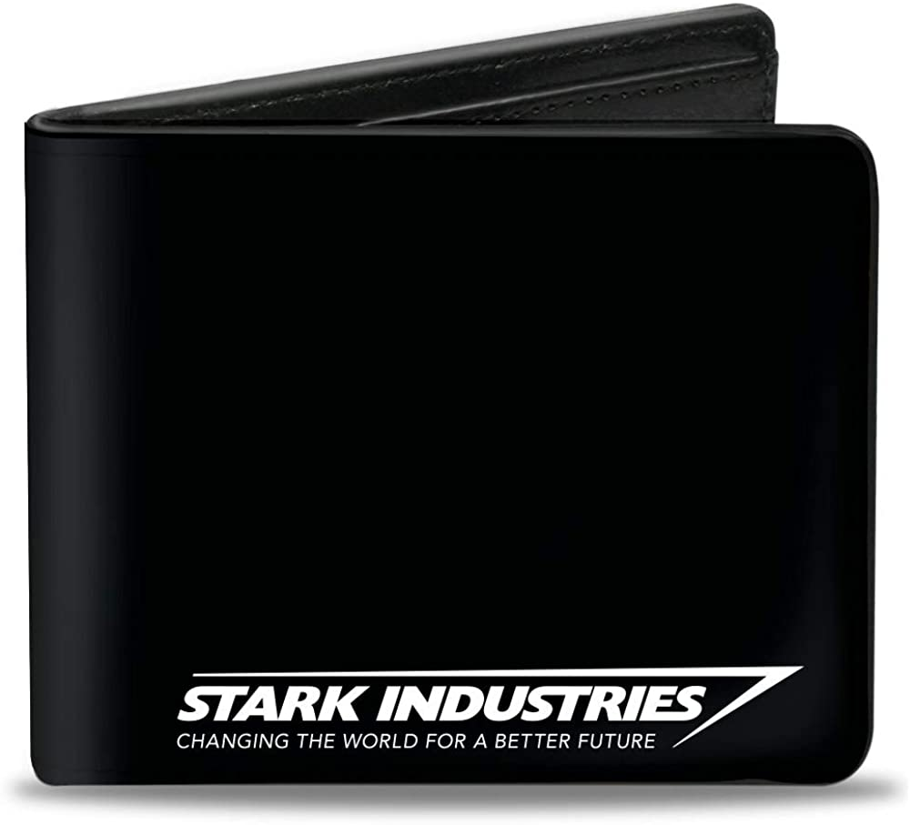 Buckle-Down Men's Standard Bifold Wallet Iron Man, 4.0
