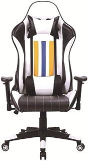 FTFTO Accessori per la casa Sedia da Gioco Sedia ergonomica Girevole per Computer Sedia da Ufficio Sedia reclinabile con S...