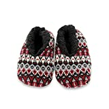 Men's Slipper Socks, Agilis Soft Step Technology with Memory Foam - Calcetines Zapatillas de Hombre, Agilis Soft Step Technology con Planta de Memory Foam (Black Multi, Numeric_40)