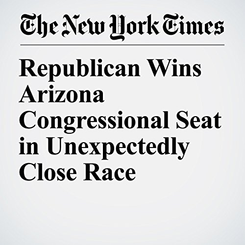 Republican Wins Arizona Congressional Seat in Unexpectedly Close Race copertina