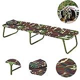 BSFYUK Tough Outdoor Camping Cot - Folding...