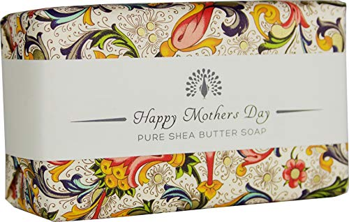 The English Soap Company, Occasions Shea Butter Soap, Happy Mother's Day - Honey, 200g