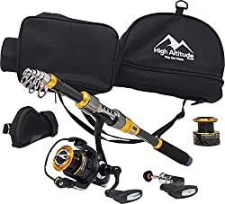 High Altitude Portable Fishing Pole for Backpacking