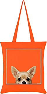 Inquisitive Creatures Chihuahua Tote Bag