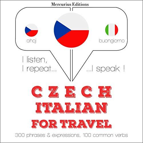 Czech - Italian. For travel cover art
