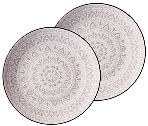 Ritzenhoff & Breker Teller-Set Valencia, 2-teilig, 21,5 cm Durchmesser
