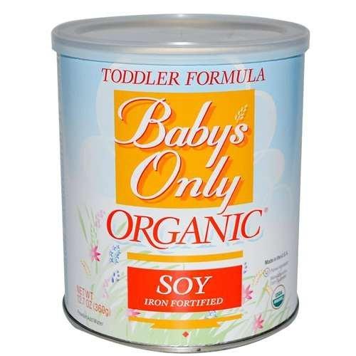 Babys Only Soy Organic Toddler Formula, 12.7-Ounce Canister Kids, Infant, Child, Baby Products bébé, nourrisson, enfant, jouet