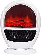 NFJ Calefactor Eléctrico Chimney Termoventilador, 1500W, Estufa Cerámica Efecto Chimenea Portátil Bajo Consumo, Estufa Aire Caliente, Sensor Sobrecalentamiento Y Antivuelco