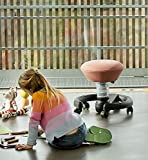 aeris Swoppster New Edition ergonomischer Schreibtischhocker für Kinder – Drehstuhl für dynamisches Sitzen und einen gesunden Rücken – 32-47,5 cm Sitzhöhe (stufenlos höhenverstellbar) - 5