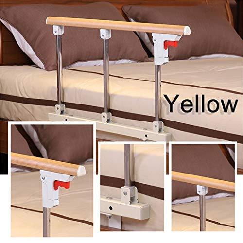 QDY-Bedside Handrails Bettgitter, Bett-Sicherheitsschienen Bettgitter für ältere Menschen Verstellbare Senioren-Bett-Sicherheitsschiene und Nachttisch-Haltegriff L7D-315