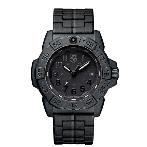 Luminox Navy Seal Quartz Movement Black Dial Men's Watch XS.3502.BO
