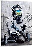 DINGDONG ART Lienzo De Impresión 60x80cm Sin Marco Póster de Arte antivirus y póster de decoración de Dormitorio Familiar Moderno con impresión de Imagen de Arte de Pared