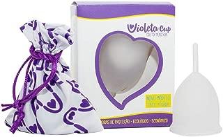 Violeta Cup Coletor Menstrual Transparente Tipo B, Violeta Cup, Incolor, Tipo Bmulheres Com Até 29 Anos E Sem Filhos, E/Ou Com Colo Do Útero De Altura Baixa