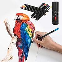 スクリプトラクト 色鉛筆 油性色鉛筆 アーティスト品質 大人の塗り絵や子供の落書き 描画 ペインティング スケッチ ライティング (36色)