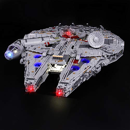 LIGHTAILING Light Set for (Star Wars Ultimate Millennium Falcon) Building Blocks Model - Led Light kit Compatible with Lego 75192(NOT Included The Model)