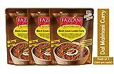FAZLANI ALIMENTOS Listo para comer Dal Makhani -Negro Gram lentejas al curry, -Pack de 3, 250 gramos cada