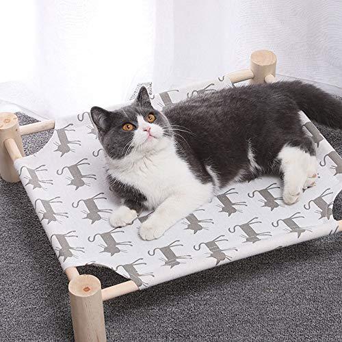 QWEIAS hondenbed verhoogde zomer kat hangmat bed huisdier honden puppy kinderbed slaapmat huisdier bedden binnen en buiten