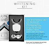 Bleaching-Set mit 3 Stiften und LED-Mundstück von Alpine White