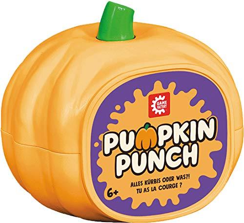Game Factory- Pumpkin Punch, reacción ultrarrápido para Amigos y Familia, Juego de...