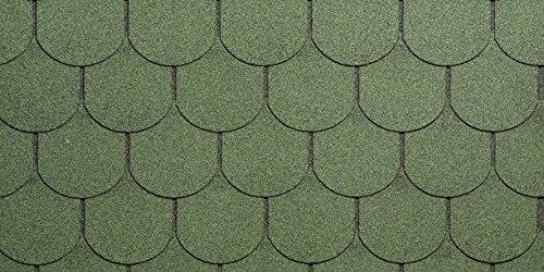 Eco Roof - Revestimiento para tejados, bituminoso, granallad