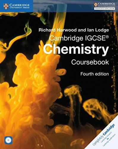 By Richard Harwood Cambridge IGCSE Chemistry Coursebook with CD-ROM (Cambridge International Examinations) (4th Edition) [Paperback]