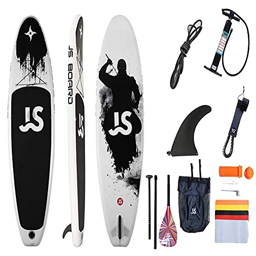 WBJLG Tabla de Paleta Tabla de Surf All-Around Vertical Paddle Surfing Tabla de Paleta Inflable portátil, A