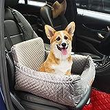 Seggiolino auto per cani, Seggiolino per cani, adatto a qualsiasi tipo di auto, tessuto di alta qualità con custodia, comodo e antiscivolo