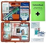 Erste-Hilfe-Koffer Gastro für Betriebe DIN/EN 13157 inkl. Augenspülung + Brandgel + detektierbare...