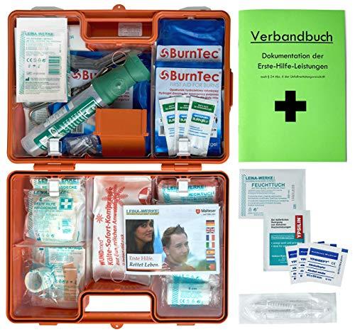 *Erste-Hilfe-Koffer Gastro für Betriebe DIN/EN 13157 inkl. Augenspülung + Brandgel + detektierbare Pflaster + Hydrogelverbände*