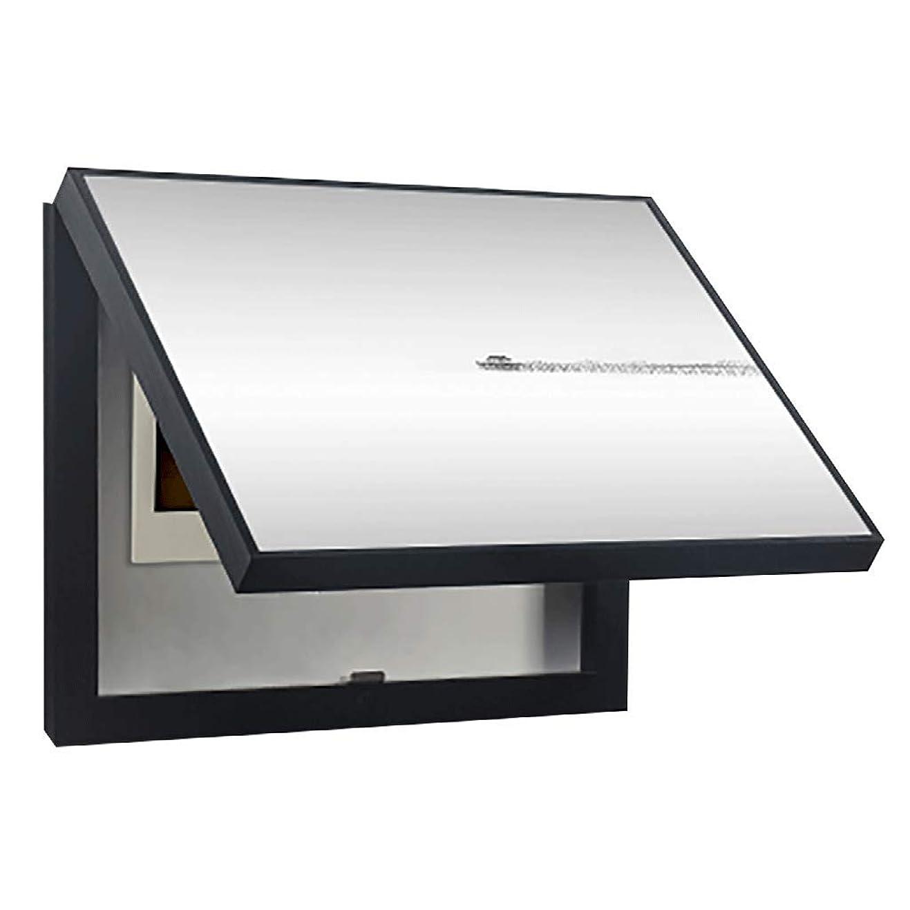 怒りガラガラ実際QIQIDEDIAN 電気メーターボックス装飾絵画油圧流通ボックス装飾絵画絵画パワースイッチカバーポーチ絵画 (Color : Black, Size : (50*40cm 40*30cm)-Flip cover)