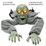 JOYIN Halloween Décor Groundbreaker Zombie with Sound and Flashing Eyes for Yard Decorations