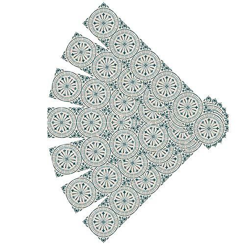 Vinyl Selbstklebende Boden, wasserdicht und verschleißfest PVC Boden Aufkleber für Wohnzimmer Schlafzimmer, Holzimitat dekorative Bodenfliese Aufkleber Kommt mit Kleber (1 m2 / 7 Blöcke)