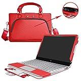 ThinkPad Yoga 370 Hülle,2 in 1 Spezielles Design eine PU Leder Schutzhülle + Portable Laptoptasche für 13.3