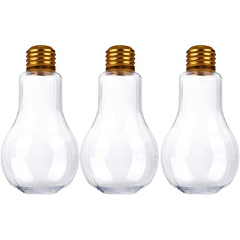 Amazon Com Creative Hobbies 24 Pack Clear Fillable Plastic Light Bulbs Great For Candy Wedding Party Favors Crafts Gifts 4 Inch Tall Home Improvement