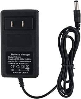HZPOWEN 12V Kids Ride On Car Charger, 12 Volt Battery Charger for Kid Trax Dynacraft Best Choice Products Wrangler SUV Huffy Electric Ride-Ons Battery Power