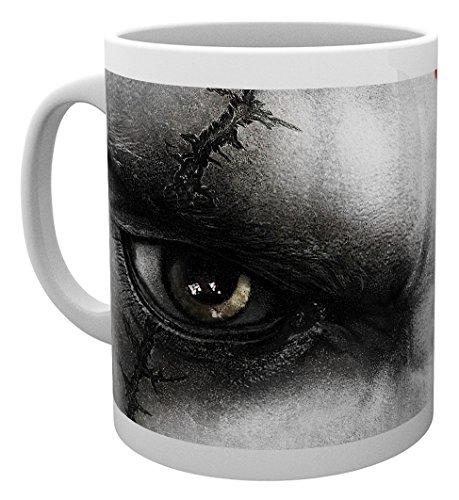 GB Eye LTD, God of War, Kratos Eyes, Taza